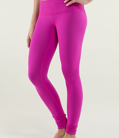 Pink from LuluLemon
