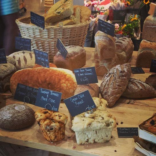 Mmm... bread.