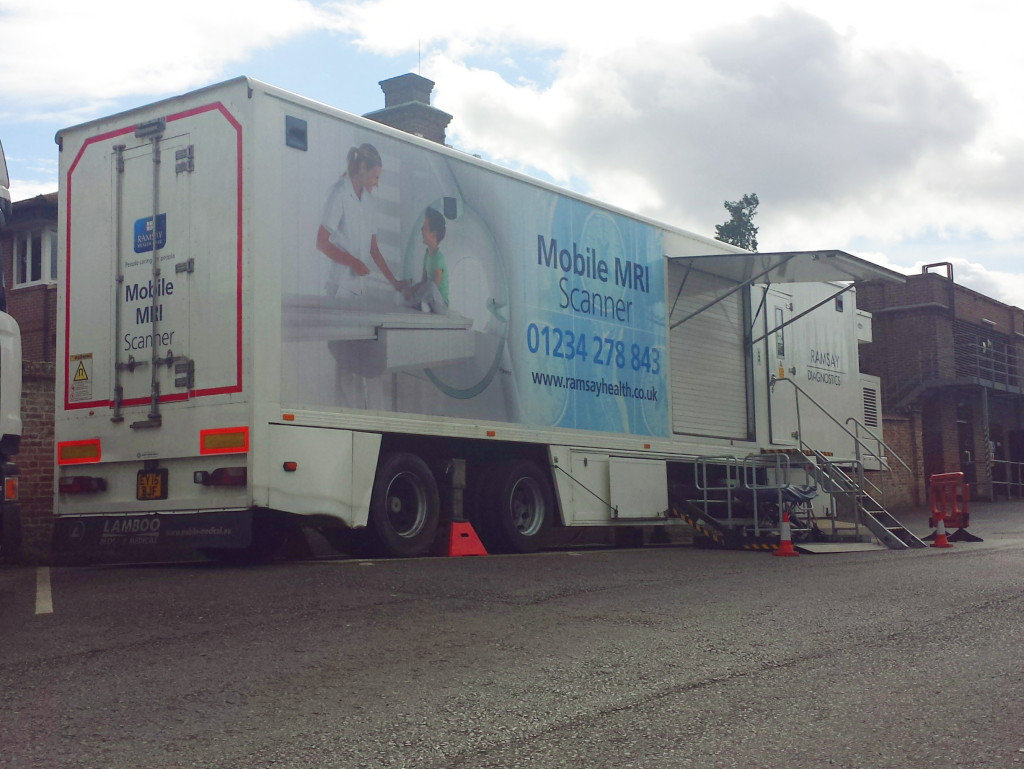 Mobile MRI, coming to a hospital near you.