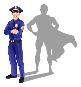 I think a cape would look good on a copper.