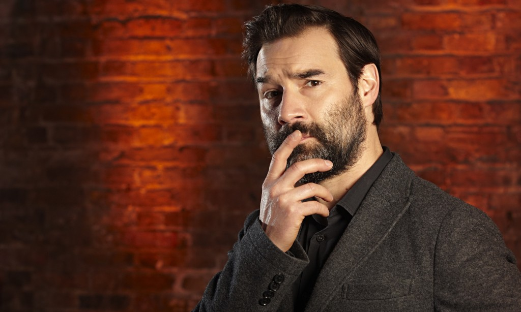 Knows when to listen … Adam Buxton